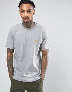 Серая футболка Carhartt WIP Chase - Серый
