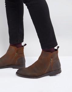 Замшевые ботинки на молнии ALDO Gerone - Коричневый