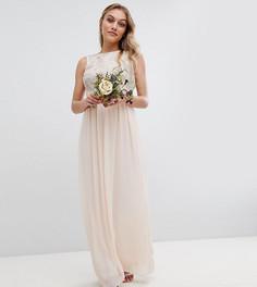Платье макси с пайетками TFNC Petite - Розовый