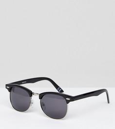 Классические солнцезащитные очки в стиле ретро с поляризованными стеклами ASOS - Черный