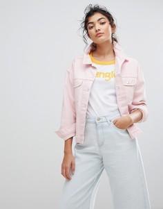 Джинсовая куртка Wrangler - Розовый