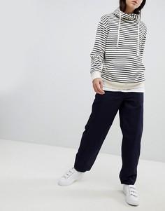 Свободные брюки Mads Norgaard - Темно-синий