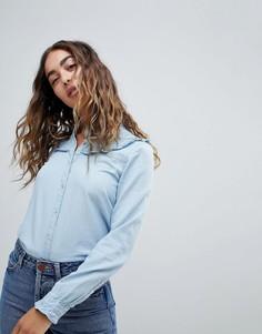 Джинсовая рубашка Esprit - Синий