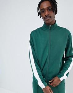 Спортивный свитшот Weekday - Зеленый