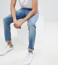 Выбеленные джинсы скинни ASOS TALL - Синий