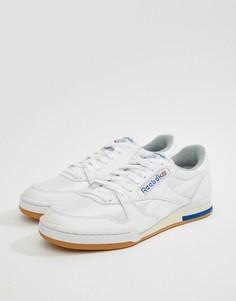 Белые кроссовки Reebok Phase 1 Pro R12 M45028 - Белый