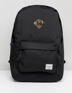 Рюкзак объемом 21,5 литра Herschel Supply Co Heritage - Черный