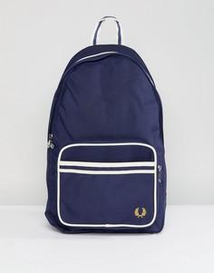 Темно-синий рюкзак с отделкой Fred Perry - Темно-синий