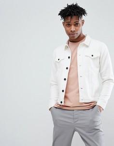 Белая джинсовая куртка Only & Sons - Белый