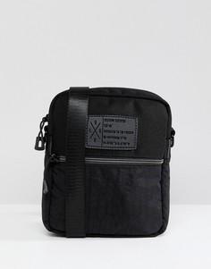 Черная сумка через плечо Religion - Черный