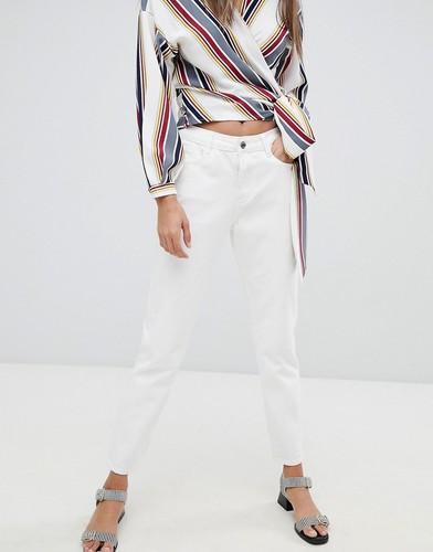Джинсы в винтажном стиле Missguided - Белый