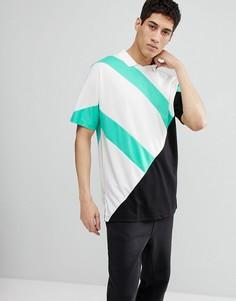 Черная футболка-поло adidas Originals EQT 18 CD6846 - Черный