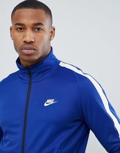Синяя спортивная куртка Nike N98 861648-455 - Синий