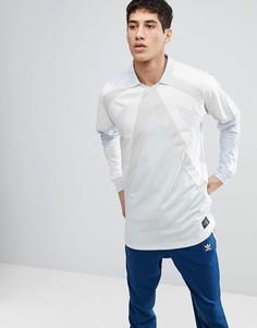 Синий лонгслив adidas Originals EQT 18 CW4924 - Синий