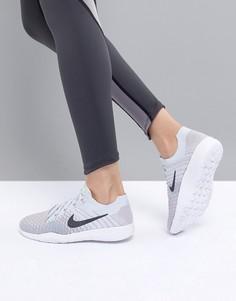 Мятно-серые кроссовки Nike Training Tr Flyknit - Серый