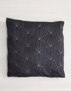 Подушка с принтом ракушек Pimkie - Серый