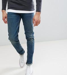 Темные джинсы скинни в винтажном стиле ASOS TALL - Синий