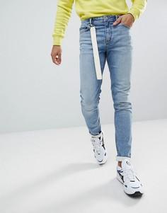 Светло-синие джинсы скинни ASOS - Синий