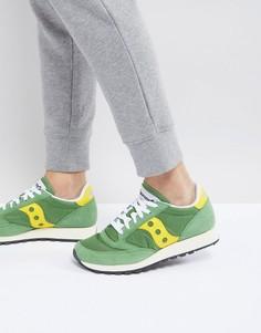 Зеленые кроссовки Saucony Jazz Original S70368-17 - Зеленый