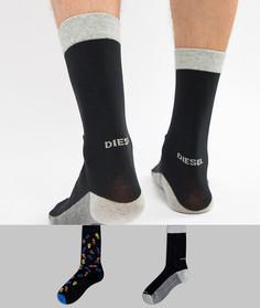 Набор из 2 пар носков Diesel - Черный
