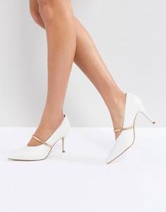 Туфли на каблуке с ремешками Kurt Geiger V - Белый