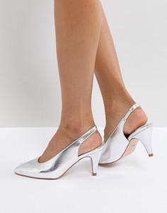 Туфли на каблуке Faith Clarissa - Серебряный