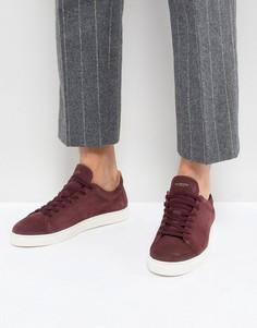 Замшевые кроссовки Selected Homme Premium - Красный