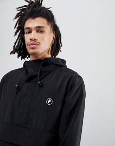 Черная куртка с принтом на спине Fairplay Tillman - Черный