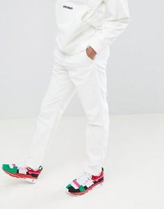 Свободные вельветовые брюки ASOS x Unknown London - Белый
