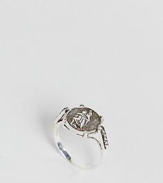 Серебряное кольцо в винтажном стиле ASOS DESIGN St. Christopher - Серебряный