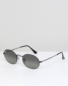Круглые солнцезащитные очки Ray-Ban 0RB3547N - Черный