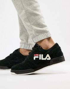 Черные кроссовки с логотипом Fila Original Fitness - Черный