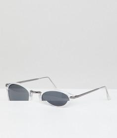 Круглые солнцезащитные очки AJ Morgan - Очистить