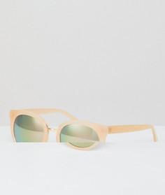 Круглые розовые солнцезащитные очки AJ Morgan - Розовый