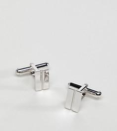 Серебряные запонки Aetherston - Серебряный