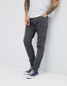 Суженные книзу брюки карго Esprit - Серый