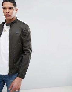 Куртка Харрингтон цвета хаки с карманами Antony Morato - Зеленый