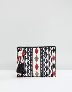 Клатч с вышивкой Suncoo - Мульти