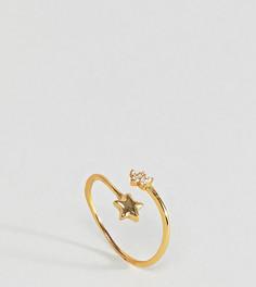 Позолоченное кольцо со звездой Kingsley Ryan - Золотой