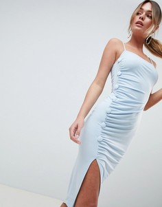 Платье миди на пуговицах ASOS DESIGN - Мульти