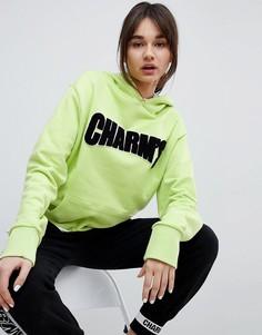 Худи с логотипом Charms - Зеленый Charm`S