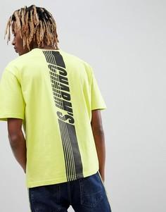Желтая футболка с принтом на спине Charms - Желтый Charm`S
