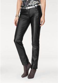 Кожаные брюки Laura Scott