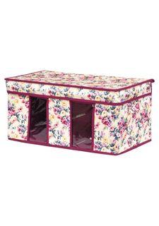 """Кофр складной для хранения """"Розовый букет"""" EL Casa"""
