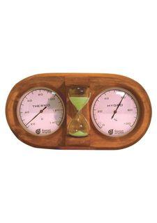 Термометр с гигрометром для бани и сауны Банные штучки