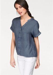 aa1ec4ce066aa06 Купить женские блузки с коротким рукавом однотонные в интернет ...
