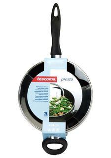 Сковорода глубокая с крышкой PRESTO tescoma