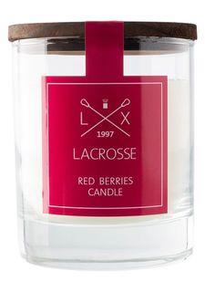 Свеча ароматическая в стекле «Красные ягоды» Ambientair