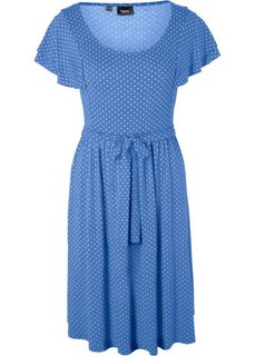 Праздничная мода для беременных: платье в горошек (небесно-голубой в горошек) Bonprix