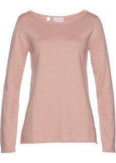 Пуловер (винтажно-розовый) Bonprix